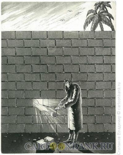 Карикатура: Гуманитарная помощь, Степанов Владимир