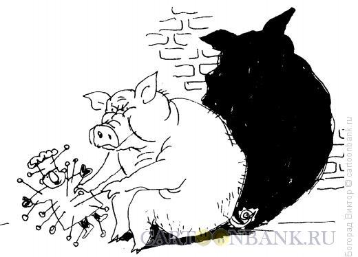 Карикатура: Вуду, Богорад Виктор