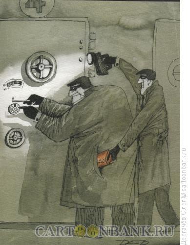 Карикатура: Банк, Дергачёв Олег