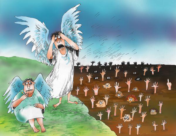Карикатура: депрессия, Алла Сердюкова