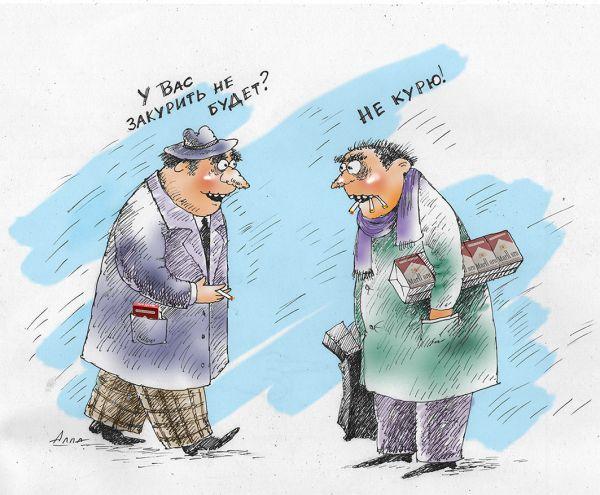 Карикатура: экономия, Алла Сердюкова