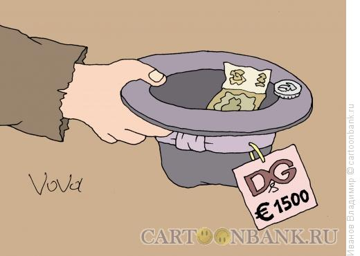 Карикатура: Крутая шляпа, Иванов Владимир
