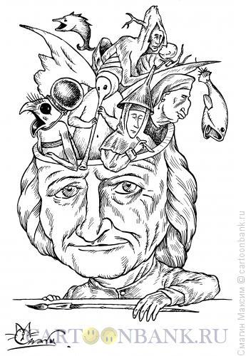 Карикатура: Босх, Смагин Максим