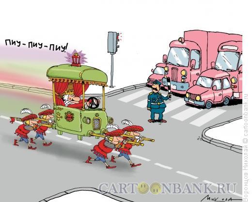 Карикатура: Кортеж, Воронцов Николай
