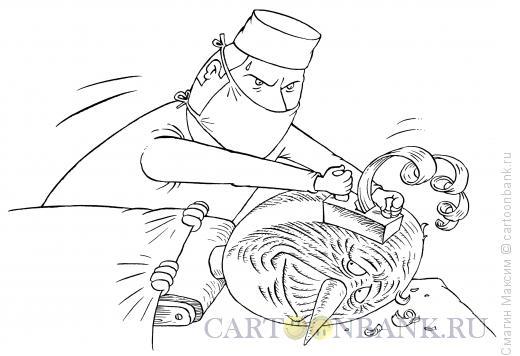 Карикатура: Пластический хирург, Смагин Максим