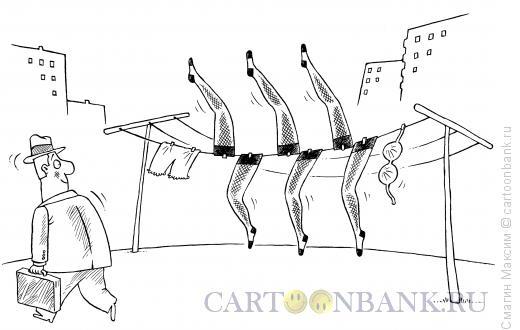Карикатура: Канкан, Смагин Максим