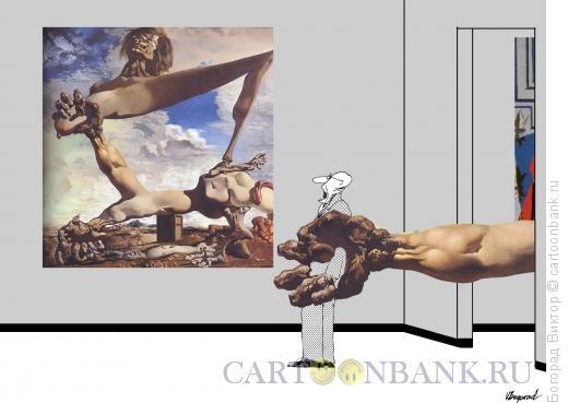 Карикатура: модернарт 38, Богорад Виктор