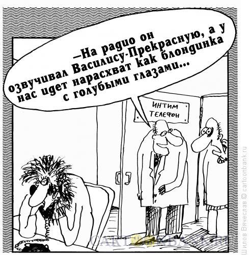 Карикатура: Василиса Прекрасная, Шилов Вячеслав