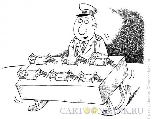 Карикатура: Колыбельная, Смагин Максим