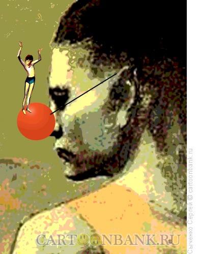 Карикатура: 1 апреля, Сыченко Сергей