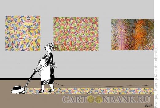 Карикатура: модернарт 18, Богорад Виктор