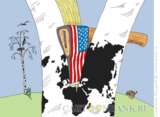 Карикатура: Раскол, Тарасенко Валерий