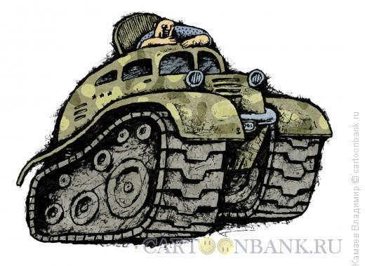 Карикатура: Тюнинг автомобиля, Камаев Владимир