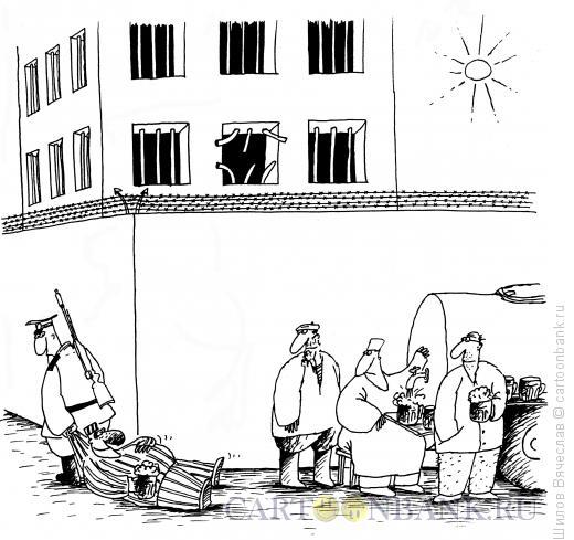 Карикатура: Побег, Шилов Вячеслав