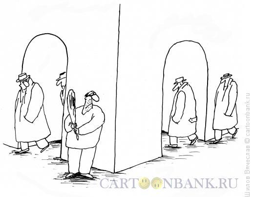 Карикатура: Грабитель, Шилов Вячеслав