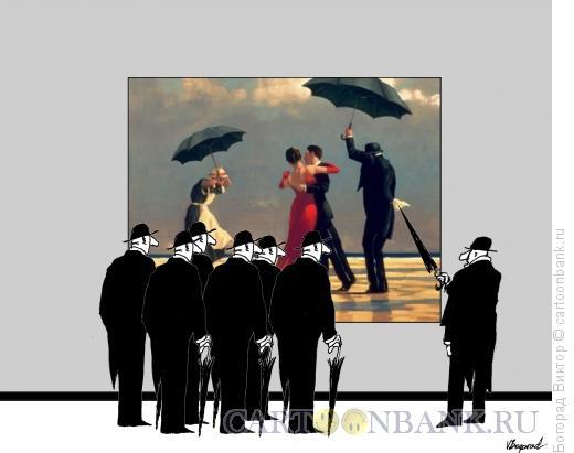Карикатура: модернарт 25, Богорад Виктор
