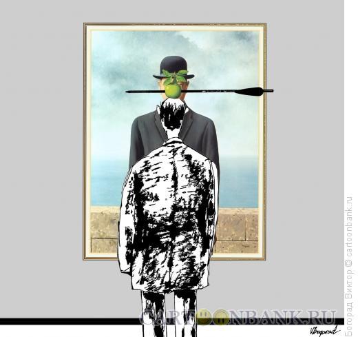 Карикатура: модернарт 5, Богорад Виктор