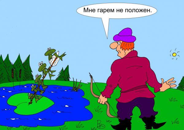 Карикатура: Невесты, Валерий Каненков