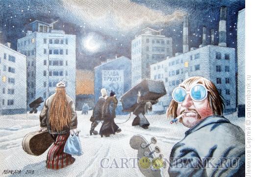 Карикатура: русский рок, Лемехов Сергей