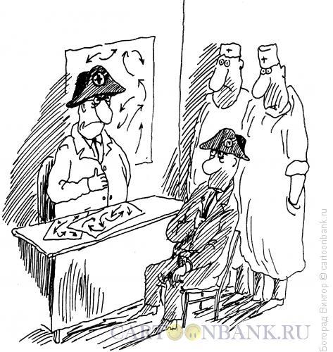 Карикатура: Встреча Наполеонов, Богорад Виктор