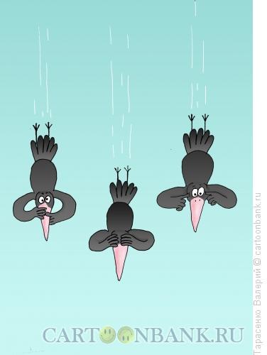 Карикатура: Гравитация, Тарасенко Валерий