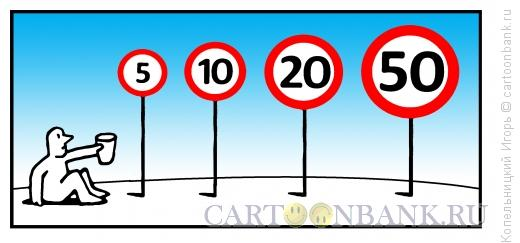 Карикатура: скорость обнищания, Копельницкий Игорь