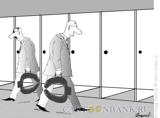 Карикатура: Всё своё ношу с собой, Богорад Виктор