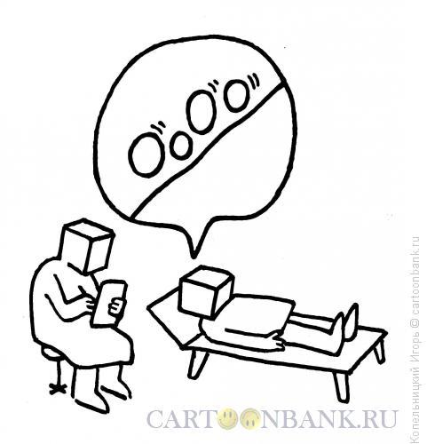 Карикатура: психиатор, Копельницкий Игорь