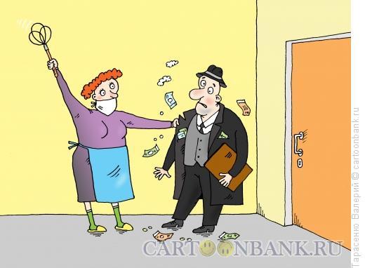 Карикатура: Вытрясвитель, Тарасенко Валерий