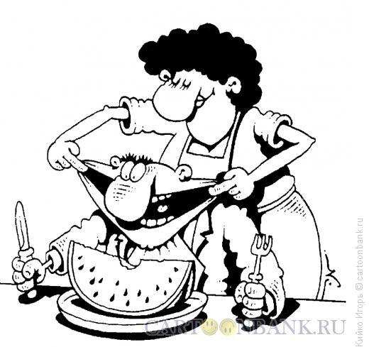 Карикатура: Размер в размер, Кийко Игорь