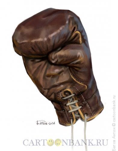 Карикатура: Бокс, Батов Антон