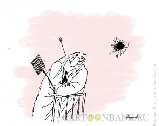 Карикатура: Надоедливый амур, Богорад Виктор