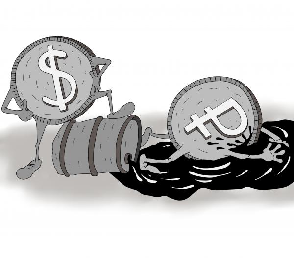 Карикатура: рубль, Игорь Иманский