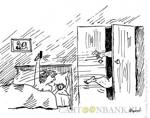 Карикатура: Тренировка любовника, Богорад Виктор