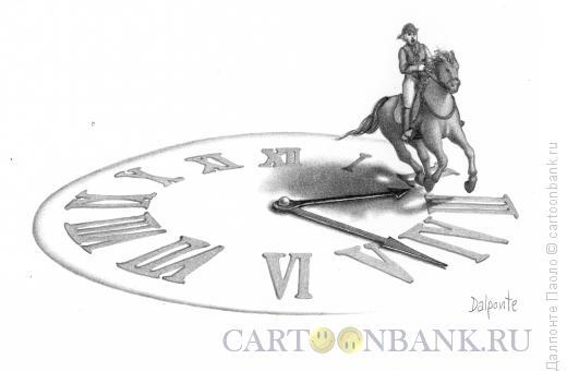 Карикатура: Всадник-время, Далпонте Паоло