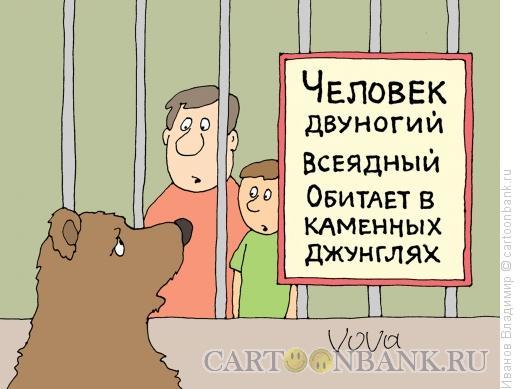Карикатура: Зоопарк, Иванов Владимир