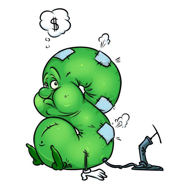 Карикатура: Доллар, Эфен Гайдэ