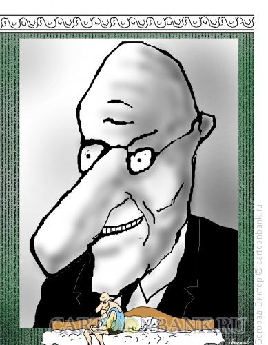 Карикатура: Мания величия, Богорад Виктор