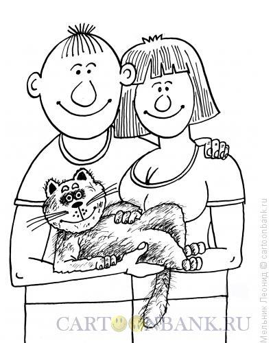 Карикатура: Иддилия, Мельник Леонид
