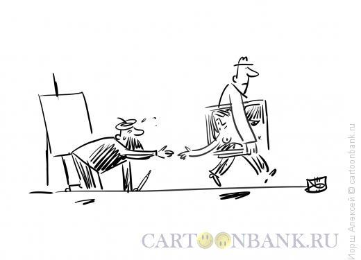 Карикатура: Прощание, Иорш Алексей