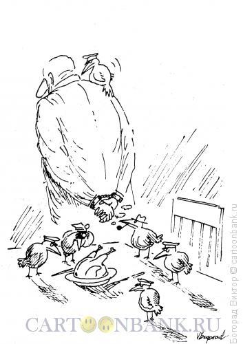 Карикатура: Мэгре, Богорад Виктор