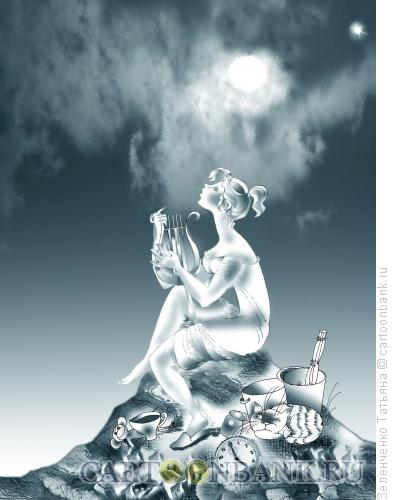 Карикатура: Песня, Зеленченко Татьяна