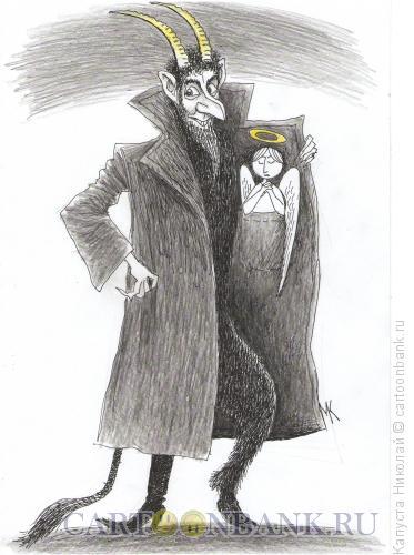 Карикатура: Дьявол, Капуста Николай