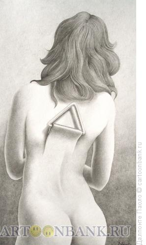 Карикатура: Ключ на спине, Далпонте Паоло