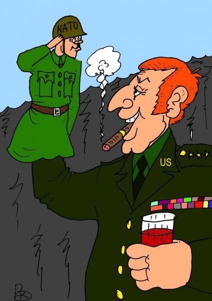 Карикатура: С полуслова, Валерий Каненков