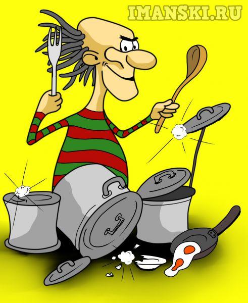 Карикатура: 6:30. Мой сосед, Нехороший  человек...., Игорь Иманский