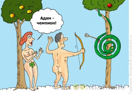 Карикатура: Первый спортсмен, Тарасенко Валерий