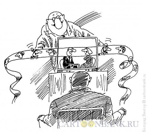 Карикатура: Лента, Богорад Виктор