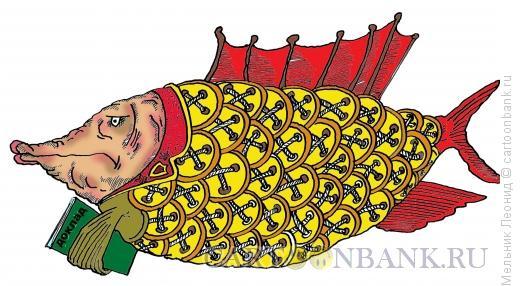 Карикатура: На доклад, Мельник Леонид