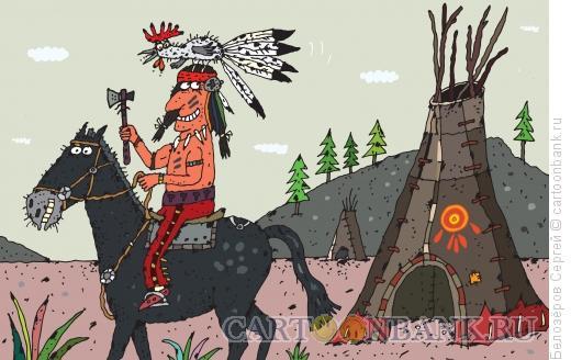 Карикатура: Петух, Белозёров Сергей